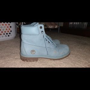Baby Blue Timbs